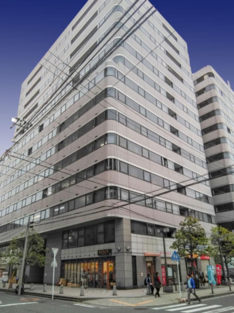 Visual Systems日本支社のオフィスがあるビル